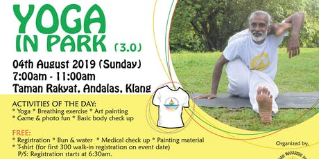 Yoga in Park 3.0 tickets