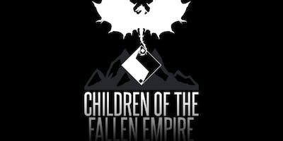 Children of the Fallen Empire: Meet the Author Happy Hour and Book Talk