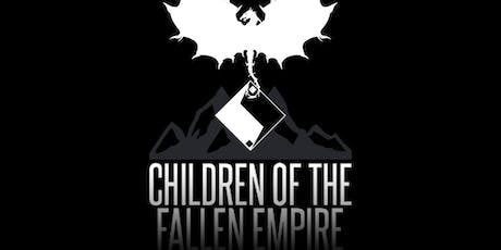 Children of the Fallen Empire: Meet the Author Happy Hour and Book Talk tickets
