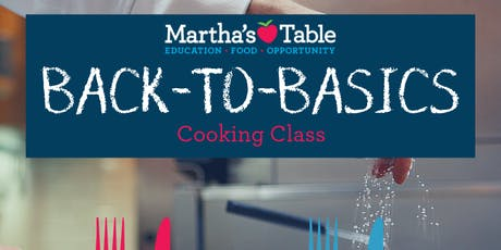 Back to Basics: Cooking Class tickets