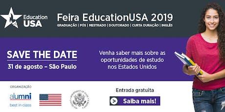 Feira EducationUSA 2019 - São Paulo ingressos
