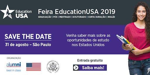 Feira EducationUSA 2019 - São Paulo