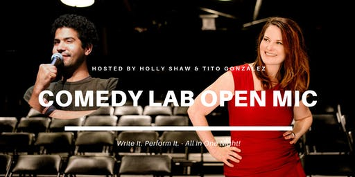 Comedy Lab Open Mic JULY!