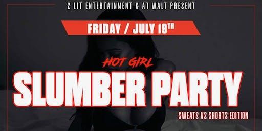 Hot Girl SLUMBER PARTY: Sweats vs Shorts