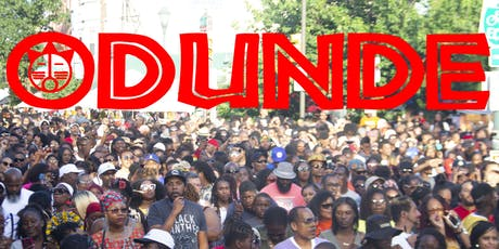 ODUNDE FESTIVAL 2020 (45th Anniversary) tickets