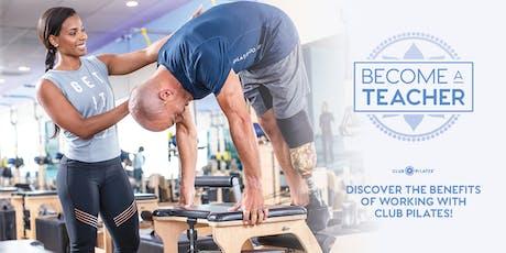 Pilates Teacher Training Info Session! tickets