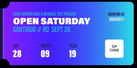 Open Saturday Santiago 2019 tickets