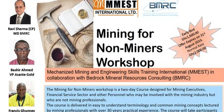 Mining for Non-Miners Workshop tickets