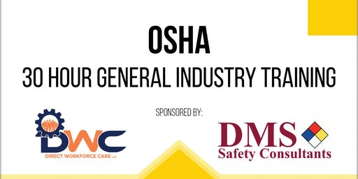 OSHA 30 Hour Industry Training