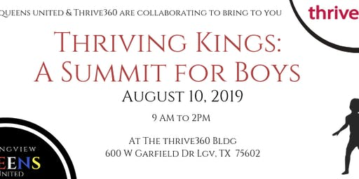 Thriving Kings: A Summit for Boys