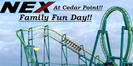 NEX Cedar Point Family Fun Day tickets