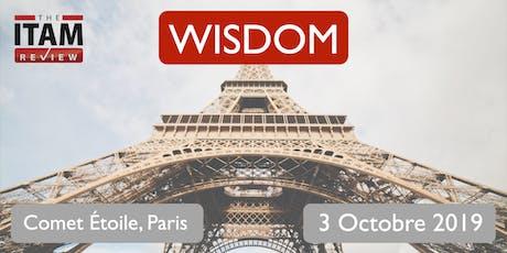 Wisdom France 2019 tickets