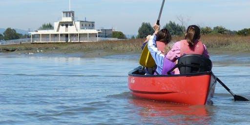 Canoe in the Baylands