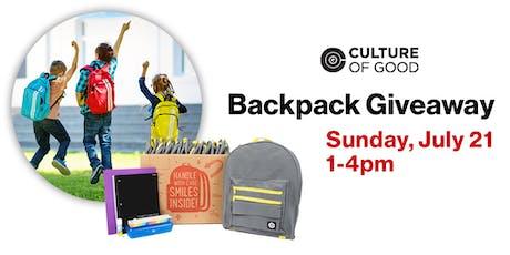 Verizon Wellesley Backpack Giveaway Event tickets