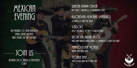 Mexican Evening at George & Dragon tickets