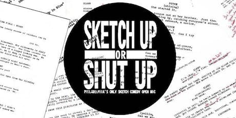 Sketch Up or Shut Up (FREE!) tickets
