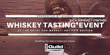 Royal Oak Market: Art Fair Edition - Whiskey Tasting - Presented by Diageo tickets