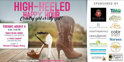 Culpeper Summer High Heeled Happy Hour