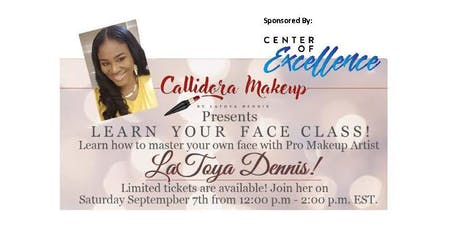 Learn Your Face Class tickets