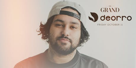 Deorro | The Grand Boston 10.11.19 tickets