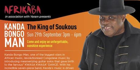 Afrikaba Festival 2019: ft Kanda Bongoman & Kasai Masai in Support tickets