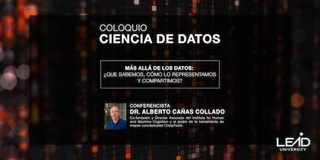 Coloquio Ciencia de Datos - Más Allá de los Datos entradas