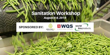 Hands-on Packing Shed Sanitation Workshop tickets