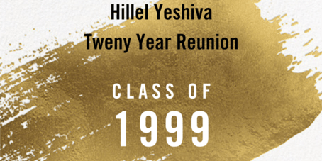 Hillel High School Twenty Year Reunion