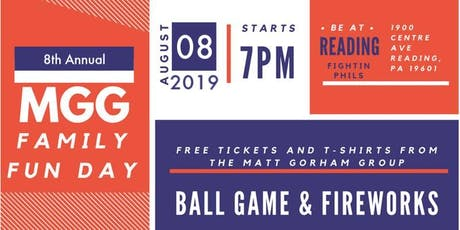 MGG Family Fun Day 2019 tickets