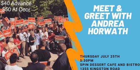 Meet and Greet with Andrea Horwath in Pickering! tickets