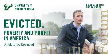 Frontier Forum presents Matthew Desmond tickets