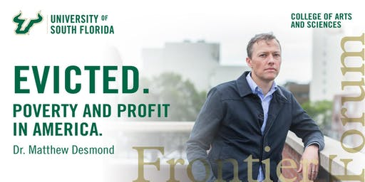 Frontier Forum presents Matthew Desmond