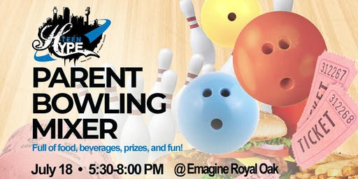 Teen HYPE Parent Bowling Mixer (Adult Only)