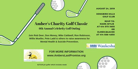 Amber's 6th Annual Celebrity Charity Golf Classic tickets