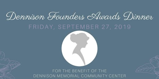 Dennison Founders Awards Dinner