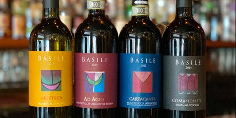 Wine Learning and Tasting at Basile tickets