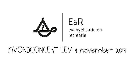 Avondconcert LEV E&R 9 november 2019