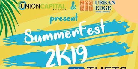2nd Annual SummerFest 2K19 Community Carnival. tickets