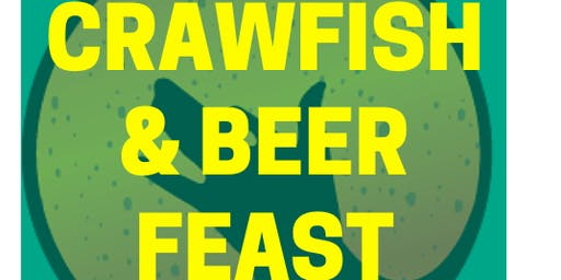 Crawfish & Beer Feast - 12pm Seating Group