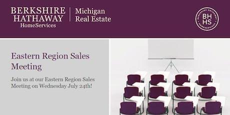 Eastern Region Sales Meeting tickets