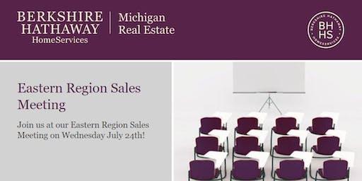 Eastern Region Sales Meeting