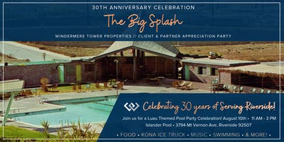 "Windermere Tower ""The Big Splash"" Pool Party Celebration"