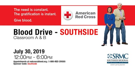 Blood Drive - Southside tickets