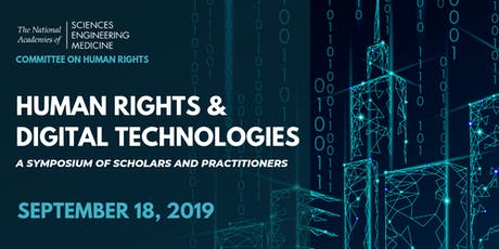 Human Rights and Digital Technologies Symposium tickets