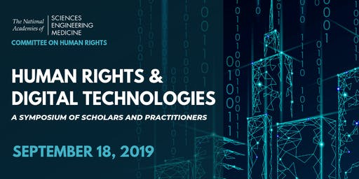 Human Rights and Digital Technologies Symposium