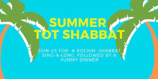 Summer Tot Shabbat