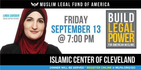Build Legal Power for American Muslims with Linda Sarsour - Cleveland, OH tickets