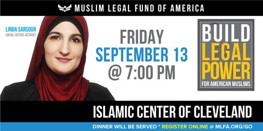 Build Legal Power for American Muslims with Linda Sarsour - Cleveland, OH