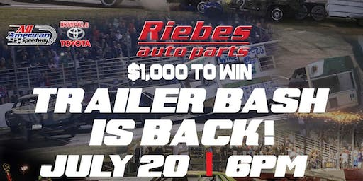 NASCAR Whelen All American Series and Riebe's Auto Parts Trailer Bash