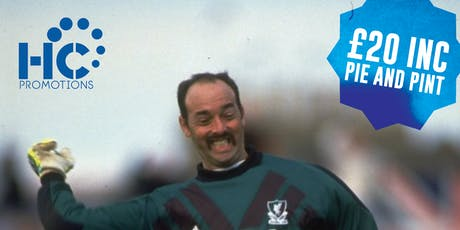 Lunch with a legend - Bruce Grobbelaar tickets